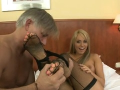 Hawt slut gets all her holles fiilled by Christoph's large wang