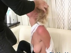 Watch from unfathomable mouth to wild anal fucking action right now